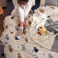 Комплект постельного белья Медвежий лес (двуспальный-евро) Berni