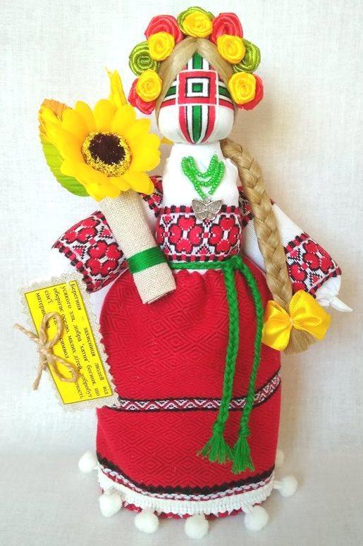 Кукла-мотанка КЛЮЙ Берегиня Солоха 25см Разноцветная K0034SO, КОД: 182786