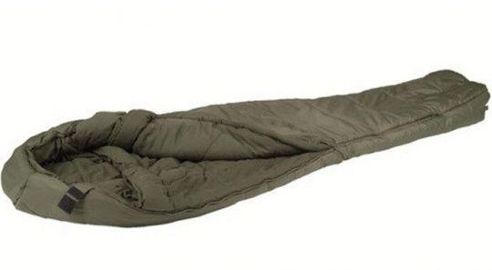 Спальный мешок Mil-Tec Survival Olive (до-15) с чехлом (200х79см)  (14113101)