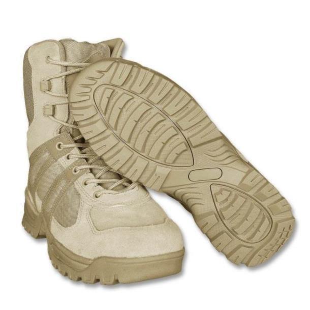 Тактические ботинки (берцы) MIL-TEC Generation II khaki EINSATZSTIEFEL(12829004) размеры: 40-45