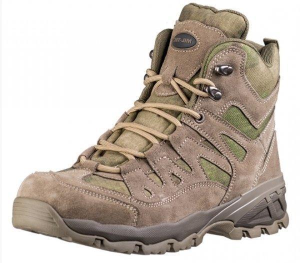 Тактические ботинки MilTec Trooper 5 A-TACS FG 12824059 размеры: 40-46