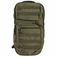 Тактический рюкзак Mil-Tec однолямочный One Strap Assault Pack LG Olive  (14059201), фото 1