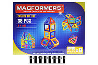 Детский конструктор магнитный MAGFORMERS 006A, 38 дет