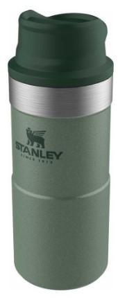 Термокружка Stanley CLASSIC TRIGGER ACTION TRAVEL MUG 0,35 L зелёная (10-06440-014)