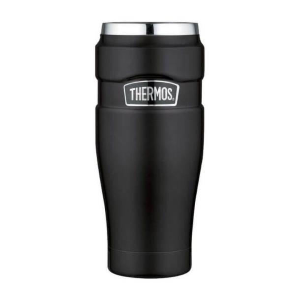 Термокружка Thermos Stainless King Travel Tumbler, Matt Black, 470 ml  (160023)