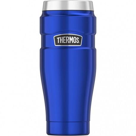 Термокружка Thermos Stainless King Travel Tumbler, Metallic Blue, 470 ml. (160027)