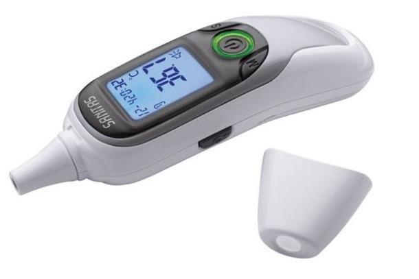 Термометр бесконтактный Sanitas SFT 75,  6 в 1, Германия