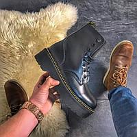 Женские зимние ботинки Dr Martens Jadone Black. Хит сезона!