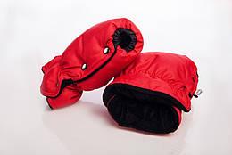 Муфта-рукавицы на коляску DECOZA.MOMS оксфорд Красный DM-MO-2, КОД: 126326
