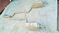 Глушитель Mercedes w220 320CDI 1999г.в. 2204910200, 2204910100