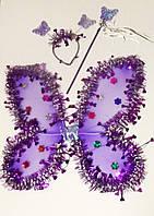 Детский карнавальный костюм Бабочка, Фея. Разные цвета., фото 1