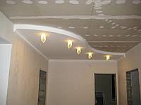 Шпаклевка стен и потолков, а также все виды отделочных работ
