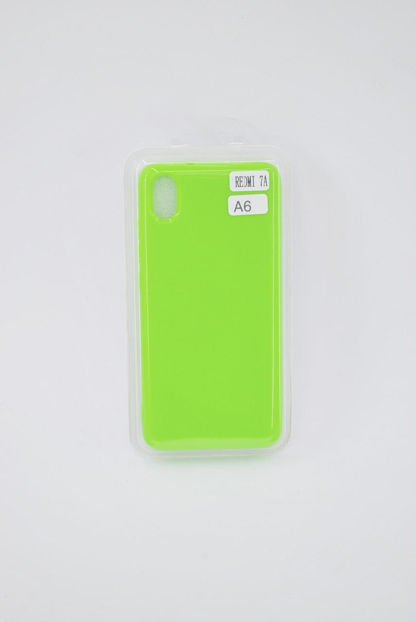 Чехол Xiaomi Redmi 8A Silicone PROFIT green