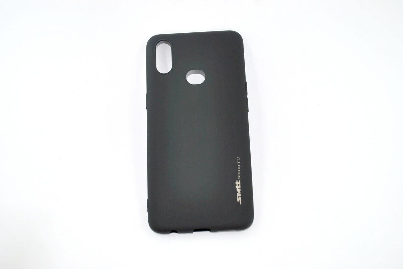 Чехол Samsung M30/M305 Silicone Smitt Black