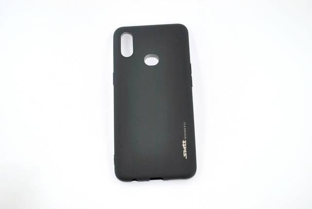 Чехол Samsung M30/M305 Silicone Smitt Black, фото 2