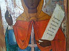Икона св. Параскева Пятница 19 век Россия, фото 3
