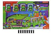 """Дитячий ігровий набір Вантажівка з героями """"Черепашки - ніндзя"""" H4491, світло, звук"""