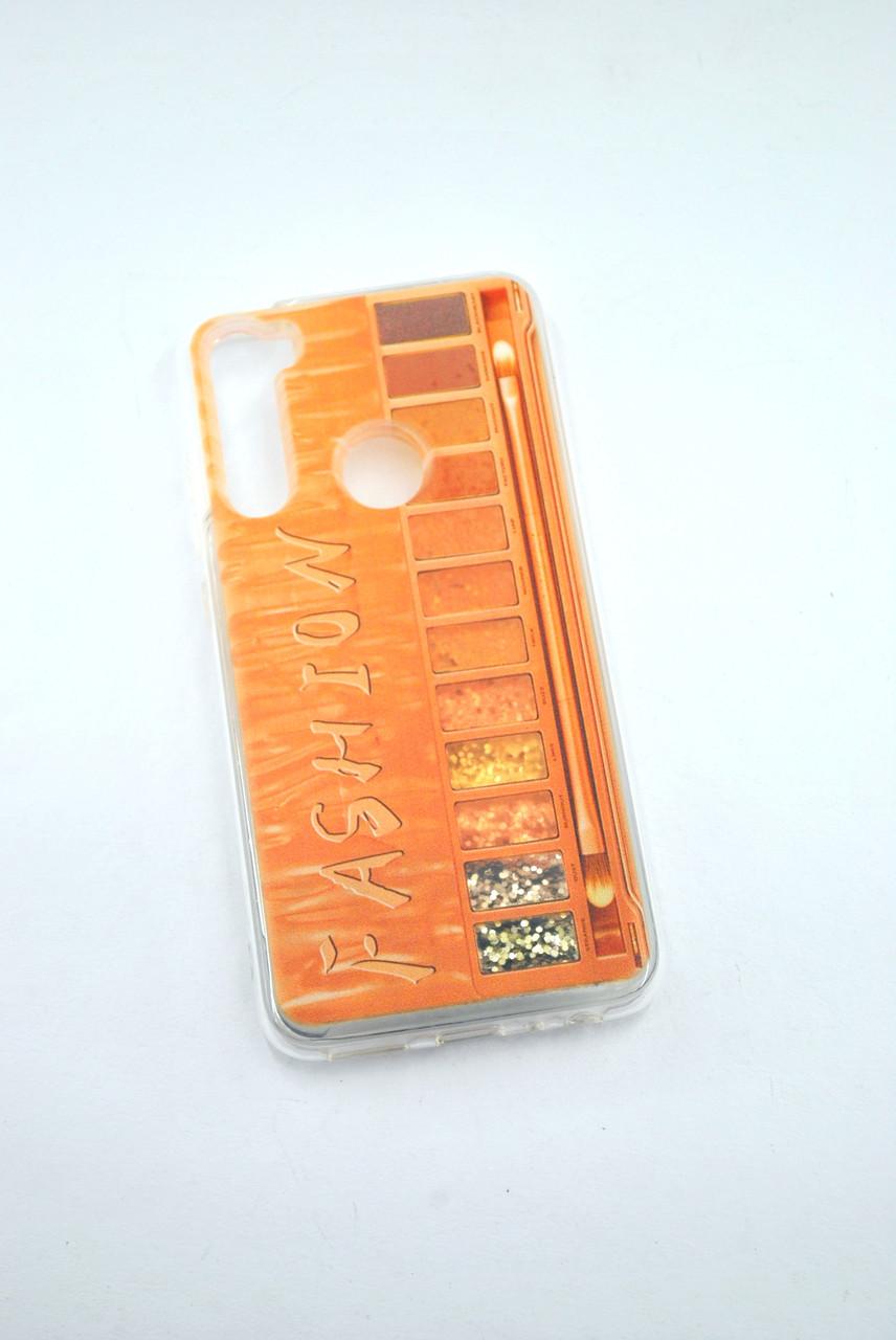 Чехол Xiaomi Redmi 8A Silicone Жидкие Блестки (G7)