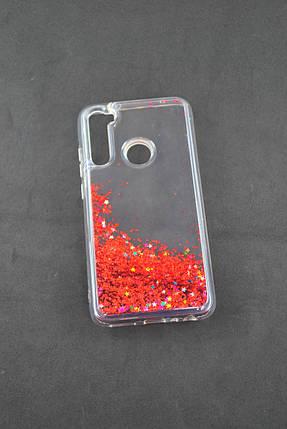 Чехол Xiaomi Redmi 8A Silicone Жидкие Блестки (I5), фото 2