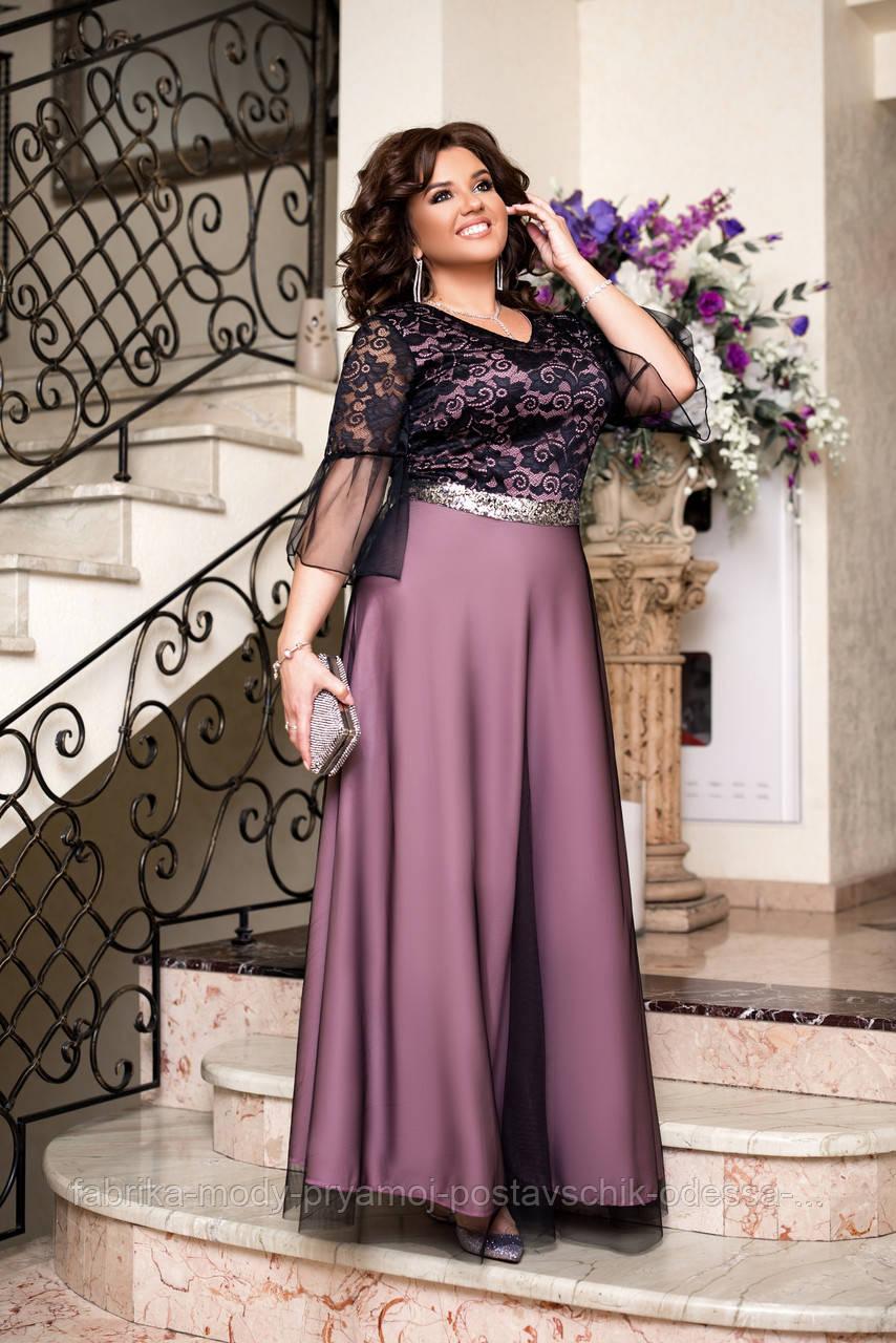 Женское  нарядное платье размер 50-58  Алисия М 1502