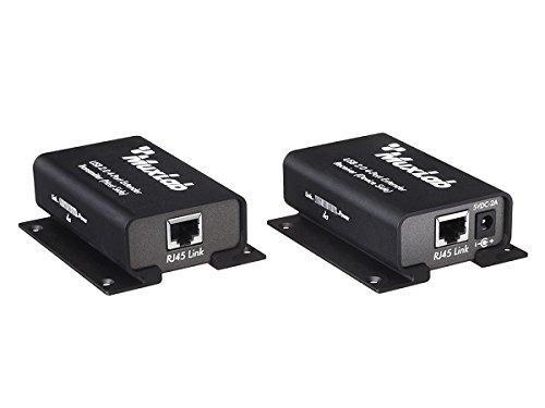 Удлиннитель USB MuxLab 500072 по кабелю Cat5e/6 до 100 м 4-port