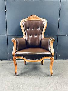 Кресло из натуральной кожи «Флоренс»