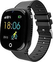 Детские смарт часы Smart Baby Watch HW11 Aqua Plus Black