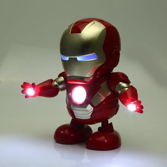 Интерактивная игрушка Танцующий герой Марвел Dance Hero Iron Man