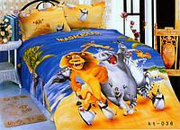Подростковое постельное белье Дисней Мадагаскар SSPD601