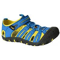 Спортивные сандалии с прорезиненным носком Pidilidi Bugga 34 B097 Синий с желтым hubLUmT51897, КОД: 1143073