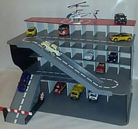Паркинг из фанеры для машинок  Kinsmart, Hot Wheels