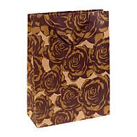 Сумочка подарочная Gift Bag Native Сомбрероус Бумага 20х15х6 см Коричневый 19331, КОД: 1347583