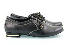 VM-Villomi Черные кожаные туфли