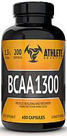 BCAA аминокислоты Athlete Genetics BCAA 1300 (200 капсул)