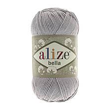 Пряжа Белла Alize (Ализе) цвет 21 серый