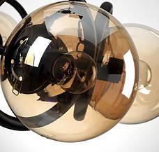 Люстра в современном исполнении (56-PR0238-8 BK), фото 2