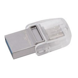 Флешка Kingston 64 GB DataTraveler microDuo 3C DTDUO3C/64GB