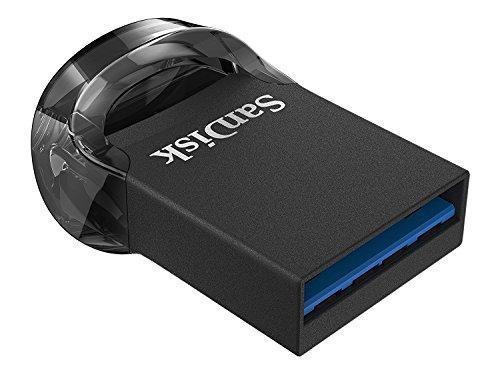 Флешка SanDisk Ultra Fit 128GB черный (SDCZ430128GG46)