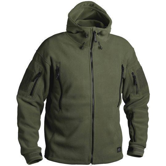 Флисовая куртка с капюшоном Helikon-Tex PATRIOT оливка BL-PAT-HF-02