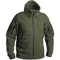 Флисовая куртка с капюшоном Helikon-Tex PATRIOT оливка BL-PAT-HF-02, фото 1
