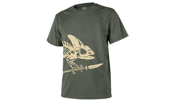 Футболка Helikon T-Shirt Full Body Skeleton Olive Green TS-FBS-CO-02