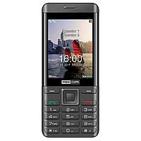 Мобильный телефон Maxcom MM236 Black-Silver 5908235974071, КОД: 1348440
