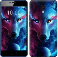 Чехол EndorPhone на Meizu M5c Арт-волк 3999u-1096, КОД: 345897
