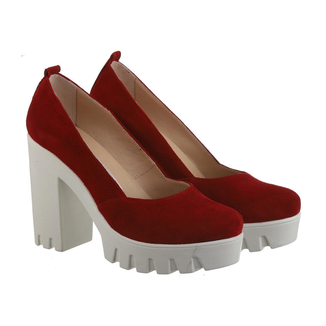 VM-Villomi Красные замшевые туфли
