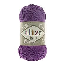 Пряжа Белла Alize (Ализе) цвет 45 пурпур, сирень