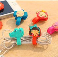 Держатель/органайзер для наушников, USB кабеля, провода - удобный аксессуар Iphone, Samsung