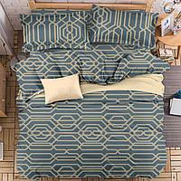 Комплект постельного белья Абстрактный узор (полуторный) Berni