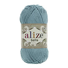 Пряжа Белла Alize (Ализе) цвет 462 бирюза