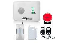 Комплект сигнализации GSM Alarm System G10C Plus, КОД: 358343