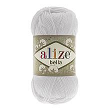 Пряжа Белла Alize (Ализе) цвет 55 белый